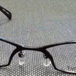 商品名:タービリオン メタル 強度近視メガネ