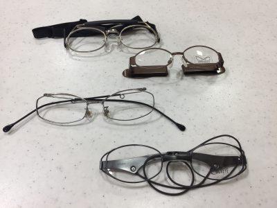 面と相性のいいスポーツメガネ